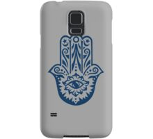 Hamsa - Hand of Fatima, protection amulet, symbol of strength and happiness Samsung Galaxy Case/Skin