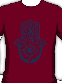 Hamsa - Hand of Fatima, protection amulet, symbol of strength and happiness T-Shirt