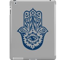 Hamsa - Hand of Fatima, protection amulet, symbol of strength and happiness iPad Case/Skin