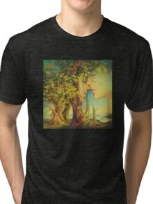 An Encounter at the Edge of the Forest Tri-blend T-Shirt