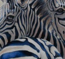 360 Degree Zebras Sticker