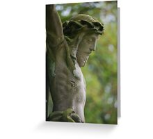 Old Crucifix Greeting Card