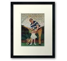 Batting Practice No 2 Framed Print