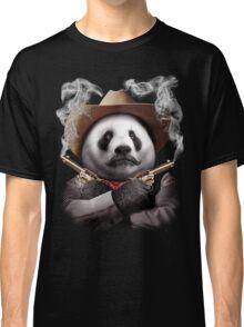 PANDA CROSSGUNS Classic T-Shirt