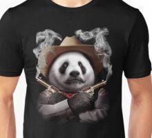 PANDA CROSSGUNS Unisex T-Shirt
