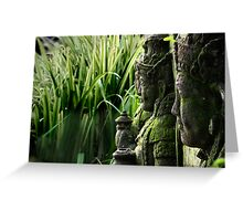 Indonesia 2 - Gardians of the Rice Fields Greeting Card