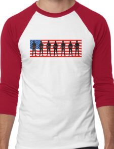 Memorial Day: End Wars Men's Baseball ¾ T-Shirt