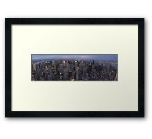 New York, Empire State Building Framed Print