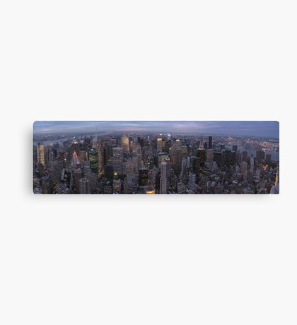 New York, Empire State Building Canvas Print