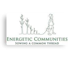 Energetic Communities Canvas Print