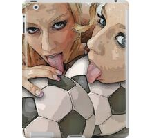 Blessed are the ball-lickers iPad Case/Skin