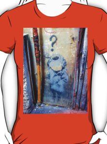 Banksy's Lil Diver Melbourne T-shirt T-Shirt