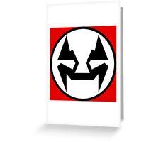 Rubbernorc NOGL Emblem - Flag Greeting Card