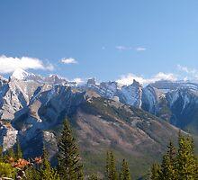 cascade range, Banff National Park, Canadian Rockies by benstrong