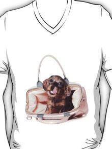 Cute Funny dachshund puppy T-Shirt
