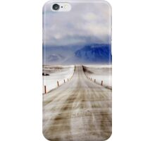 Icelandic Open Road iPhone Case/Skin