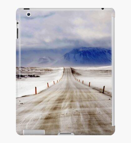 Icelandic Open Road iPad Case/Skin