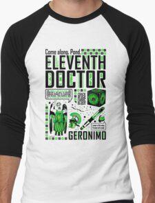 The Eleventh Doctor Men's Baseball ¾ T-Shirt