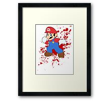 Mario - Super Smash Bros Framed Print