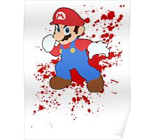 Mario - Super Smash Bros Poster
