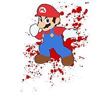 Mario - Super Smash Bros Photographic Print