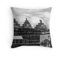 In the lost land of giants Throw Pillow