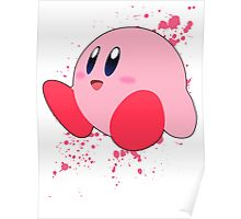 Kirby - Super Smash Bros Poster