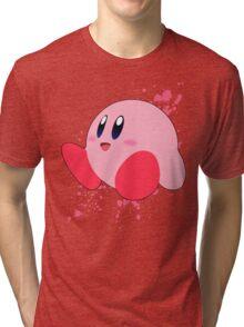 Kirby - Super Smash Bros Tri-blend T-Shirt