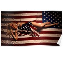 All American Girl Poster