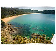 Totaranui Beach, Abel Tasman National Park Poster