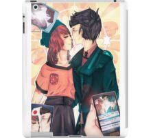 First Kiss iPad Case/Skin