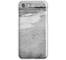 Alone at the coast iPhone Case/Skin