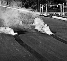 Burnout Smoke and Rubber by NickBracken