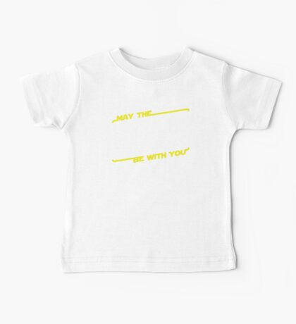 May The Speed Force Be With You Baby Tee
