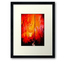 Wizards Lair Framed Print