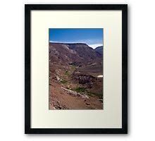 View to Rio Grande de Atacama Framed Print
