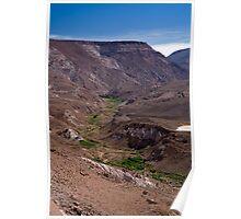 View to Rio Grande de Atacama Poster