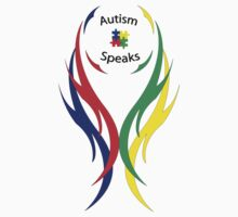 Autism Speaks Tribal by Mr-P