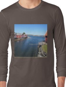 Some cottages on the island Long Sleeve T-Shirt