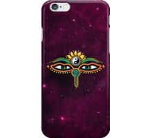 Buddha eyes, symbol wisdom & enlightenment, iPhone Case/Skin