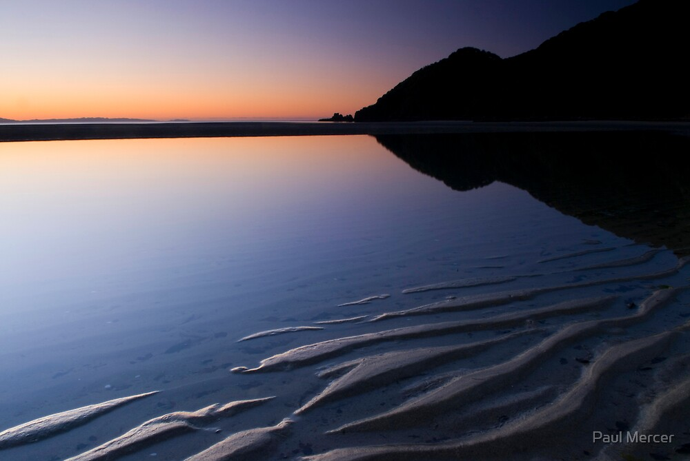 Wainui Bay, Abel Tasman National Park 1 by Paul Mercer