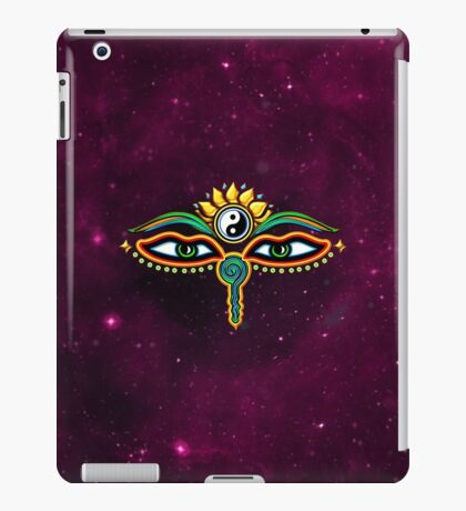 Buddha eyes, symbol wisdom & enlightenment, iPad Case/Skin
