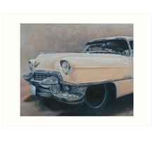 Cadillac study Art Print