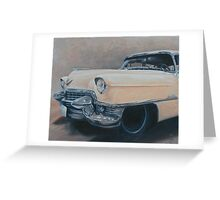 Cadillac study Greeting Card