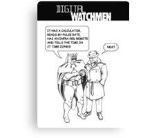 Digital Watchmen Canvas Print