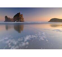 Wharariki Beach 2 Photographic Print