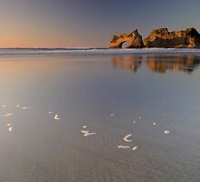 Wharariki Beach 3 by Paul Mercer