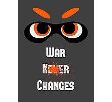 War Changes (Splatoon x Fallout) Photographic Print