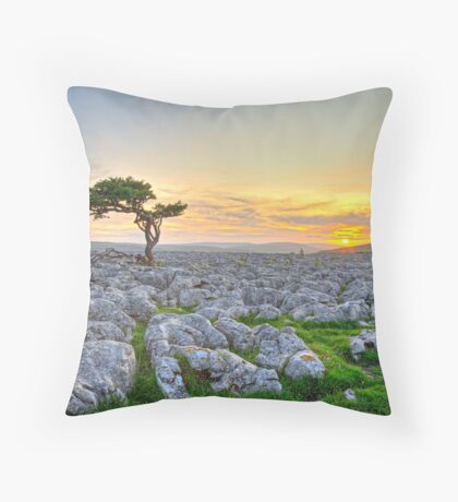 Dales Dusk Throw Pillow