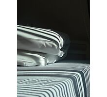 The Hospital Bed Sheets.  Photographic Print